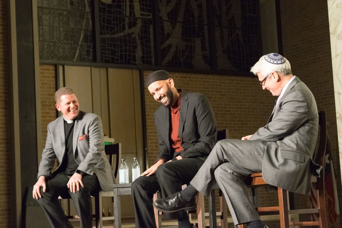 A Priest, a Rabbi, and an Imam Walk Into a Church in Dallas