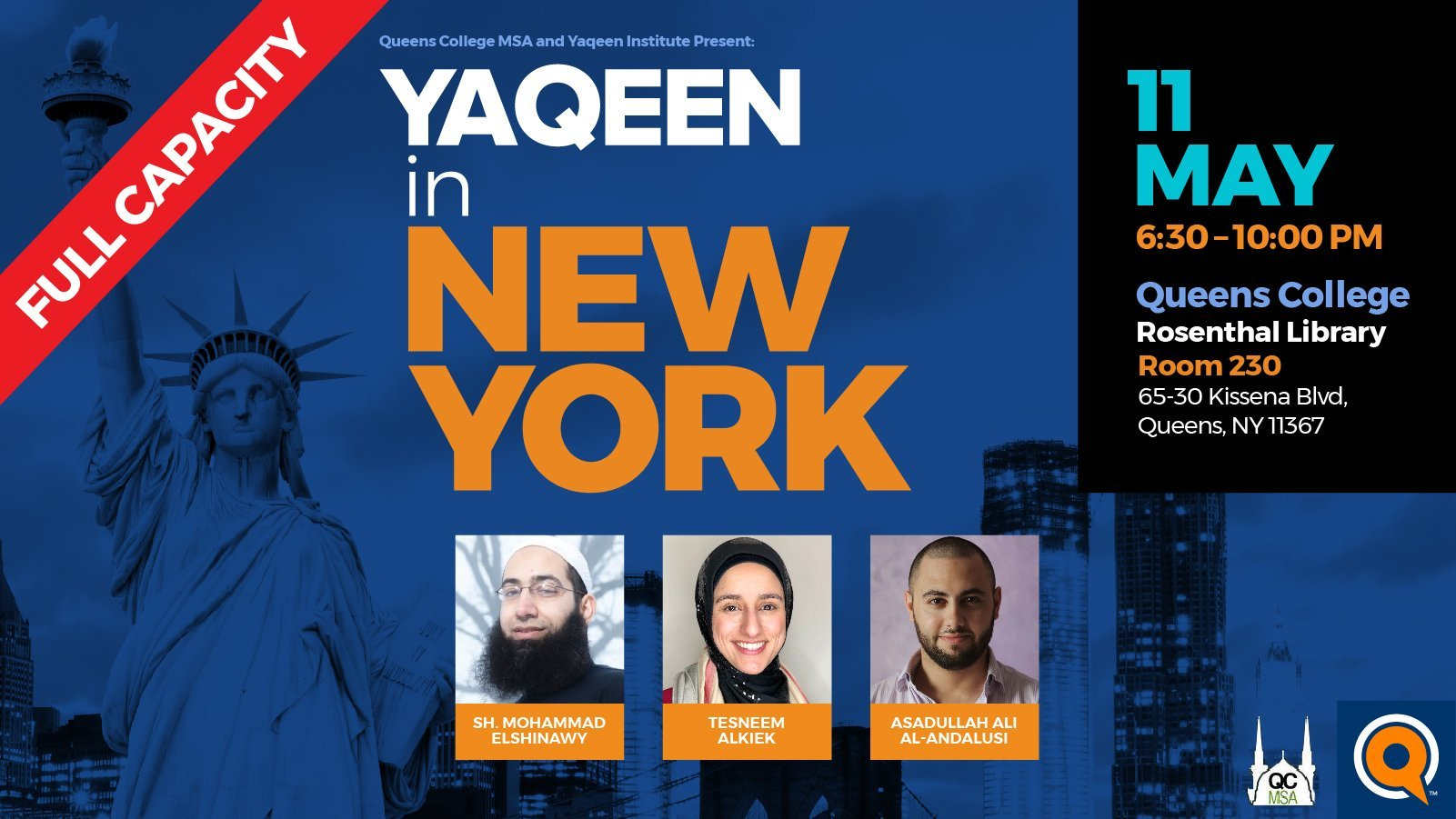 Yaqeen in New York