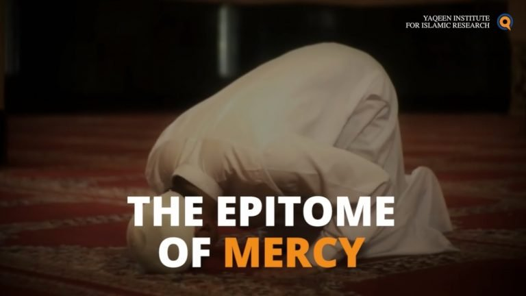 Prophet Muhammad - The Epitome Of Mercy