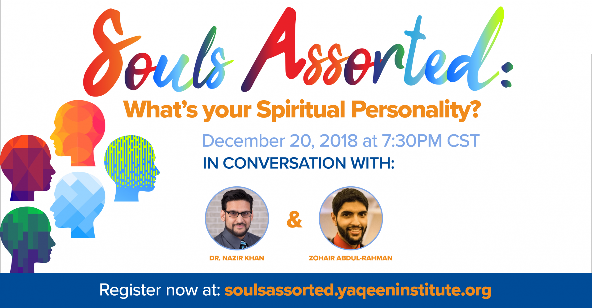 "Upcoming Webinar | ""Souls Assorted: What's Your Spiritual Personality?"""