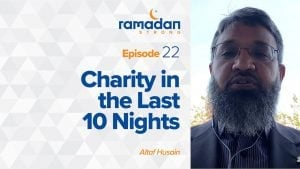 Day 22: Charity in the Last 10 Nights | Ramadan Strong