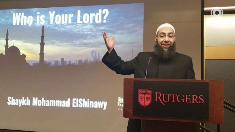 Why Does God Ask People to Worship Him? - Sh. Mohammad Elshinawy | Lecture