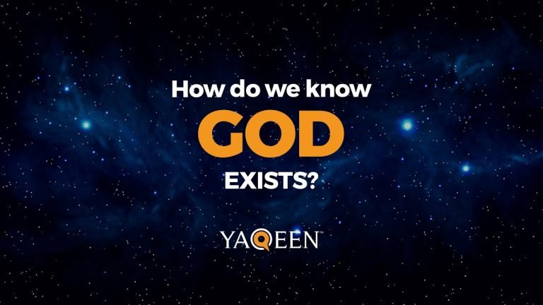 How do we know God exists? | Animation