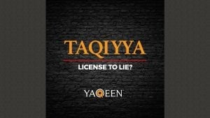 Taqiyya – License to Lie? | Animated Video
