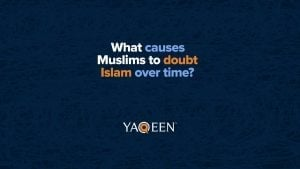 What causes Muslims to doubt Islam?   Animation