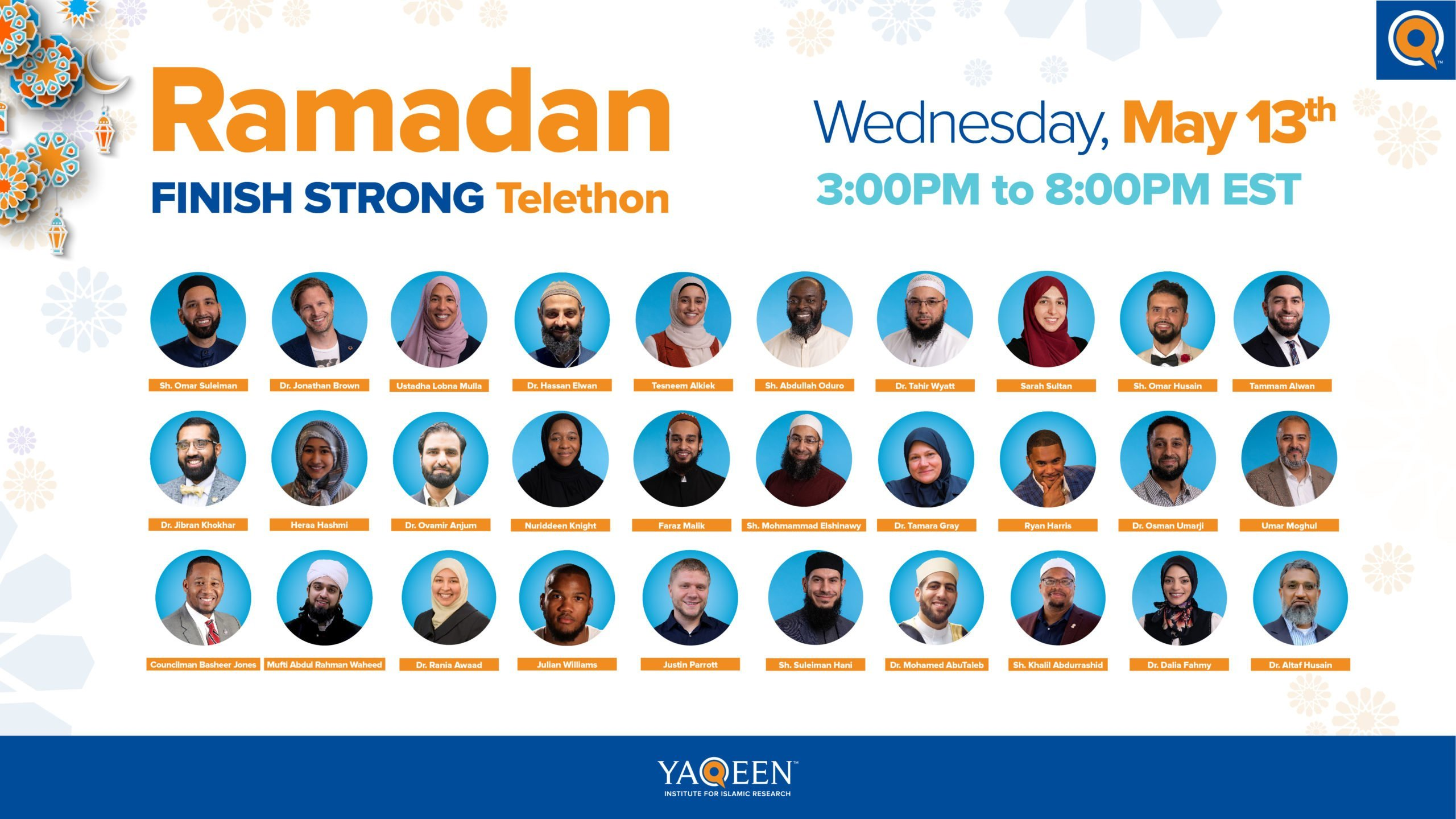 Finish Ramadan Strong with Yaqeen