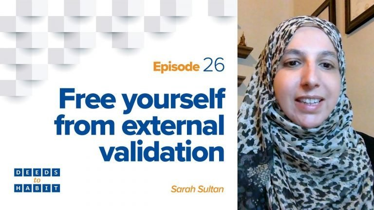 Free Yourself from External Validation