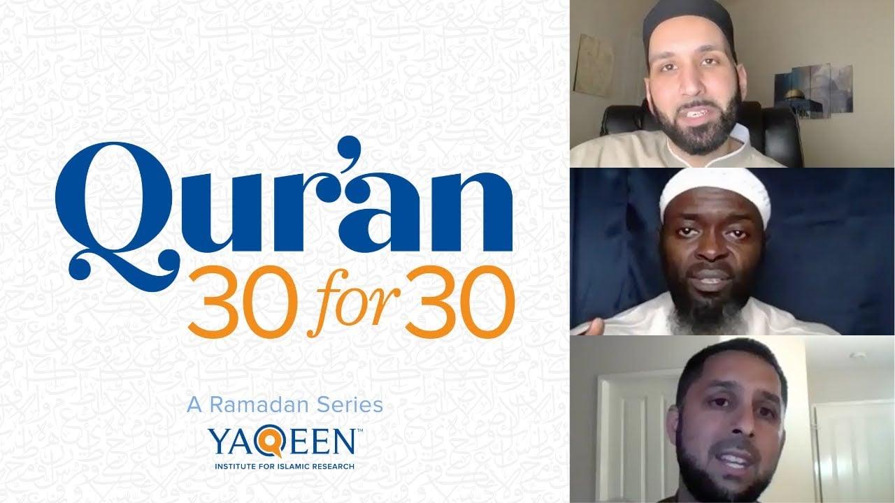 Juz' 20 with Dr. Osman Umarji