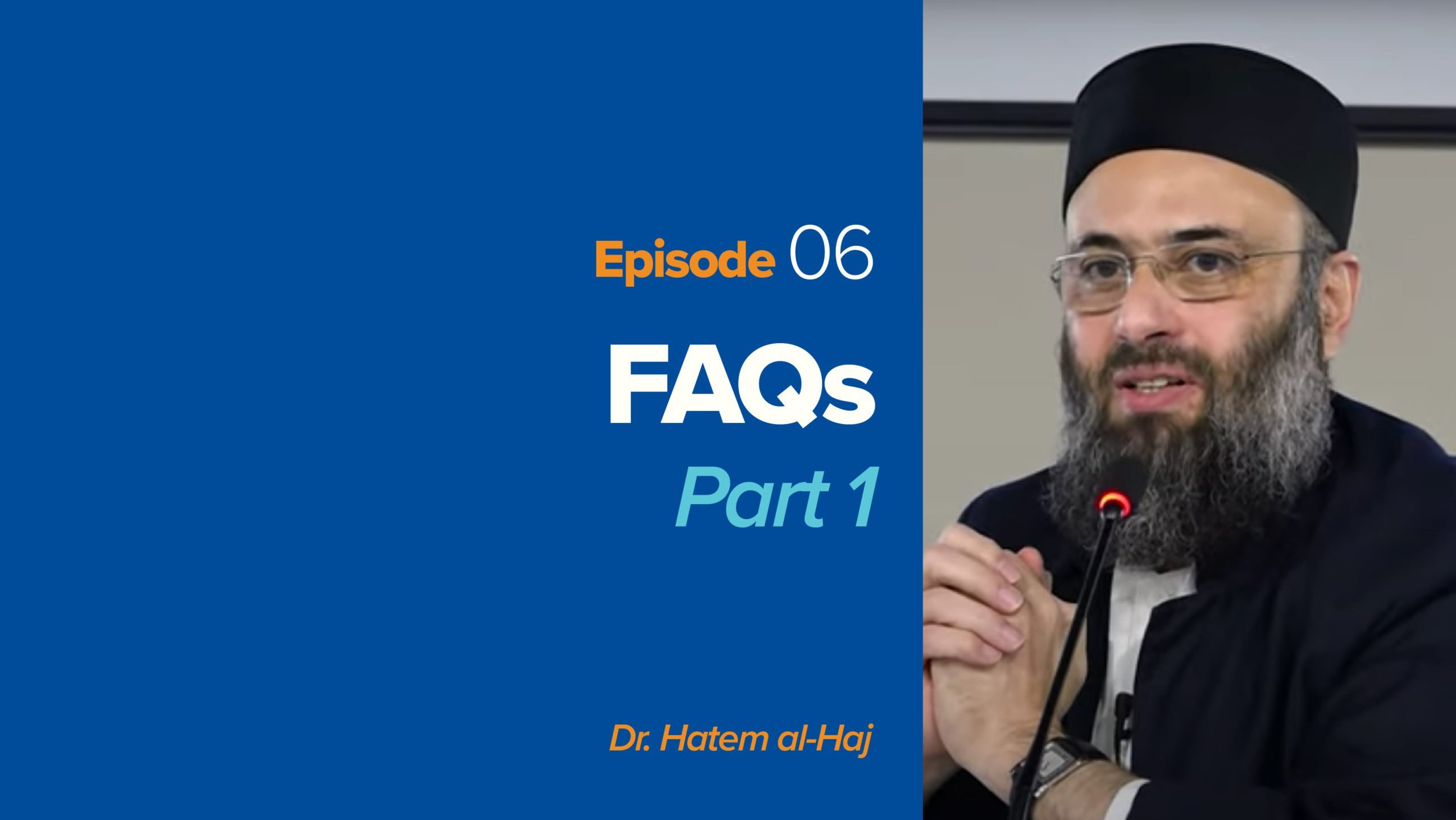 FAQs with Islamic Apologetics – Part 1