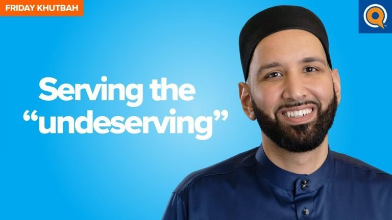 """Serving the """"Undeserving"""" 