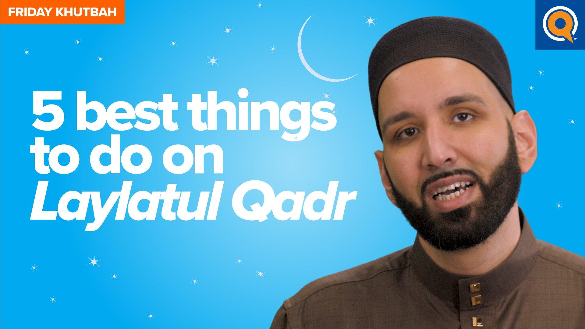 The Effect Of Laylatul Qadr On The Heart | Khutbah