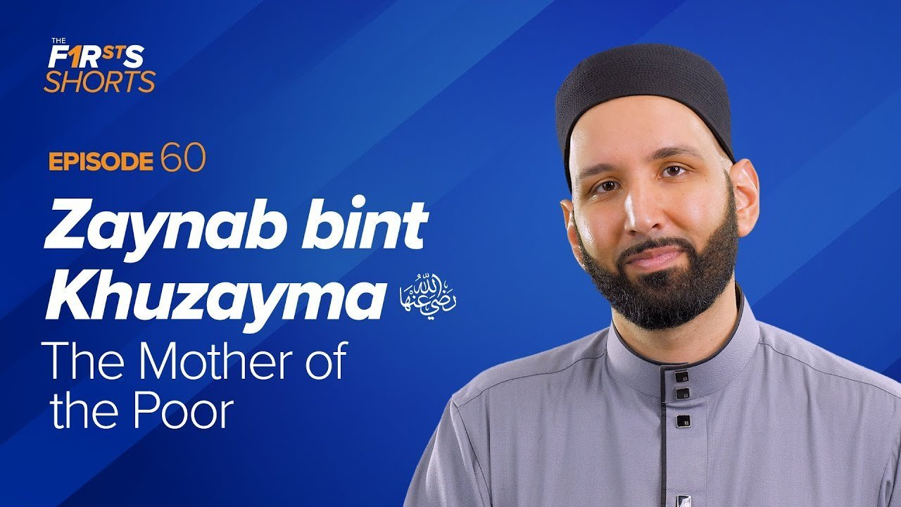 Zaynab Bint Khuzayma (ra): The Mother of the Poor | The Firsts Shorts
