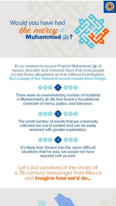 Would you have had the mercy of Muhammad ﷺ?